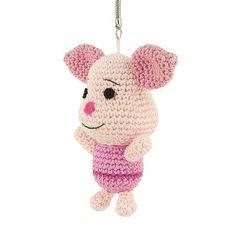 Amigurumi - Sabrina Somers Collections - Piglet (Winnie the Pooh) - Free Pattern