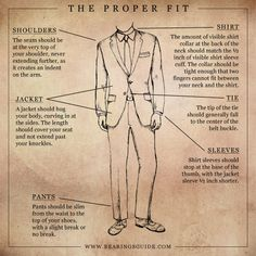 The Tailored (Proper) Fit