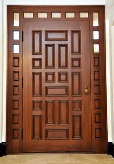 Custom Made Historical Reconstuction Main Entry Door - October 19 2019 at Modern Entrance Door, Main Entrance Door Design, Wooden Front Door Design, Wood Entry Doors, Wooden Front Doors, Modern Door, Oak Doors, House Main Door Design, Room Door Design