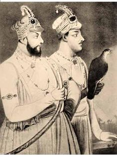 Mir Muhammed Jafar Ali Khan Bahadur, commonly known as Mir Jafar, second son of Sayyid Ahmad Najafi, (1691–1765) was the Nawab of Bengal (Bengal, Bihar and Orissa). He was the first Nawab of the Najafi dynasty after deceiving Nawab Siraj-Ud-Daulah. His rule is widely considered the start of British rule in India and was a key step in eventual British domination of the country. His eldest son was Mir Miran (right).