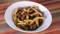 Pici with Lamb Ragu by Mario Battalion on The Chew. This delicious Italian dish will be the hit of your next dinner party! The Chew Recipes, Lamb Recipes, Cooking Recipes, Healthy Recipes, Party Recipes, Italian Pasta Recipes, Italian Dishes, Italian Meals, Pasta Dishes
