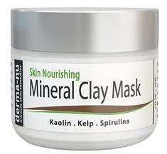 Healing Clay Mud Mask for Deep Pore Cleansing - Best Face Mask for Acne, Oily Skin & Blackheads - Reduces Wrinkles & Minimizes Pores - Organic and Natural Skin Cleanser & Therapeutic Spa Mask – Mask For Oily Skin, Face Mask For Blackheads, Cream For Oily Skin, Moisturizer For Oily Skin, Healing Clay, Skin Care Treatments, Facial Treatment, Acne Mask, Best Face Mask