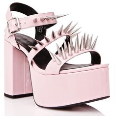 e33c576fb19 Current Mood Piercing Scream Platforms ( 68) ❤ liked on Polyvore featuring  shoes