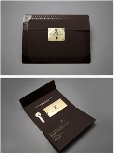 Louis Vuitton Invite | Julien Mercier | http://www.julmeme.com