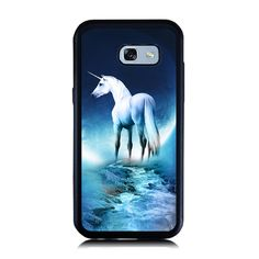 >> Click to Buy << for Samsung A5 A7 2017 Case Blue Unicorn Stream Print Case Soft Silicone Hard PC Cellphone Cover for Galaxy A3 A5 A7 2016 Cases #Affiliate