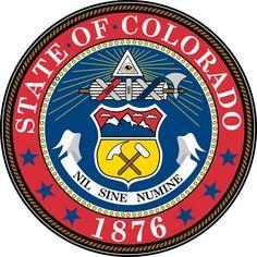 State of Colorado (CO) United States, Capital: Denver Nebraska, Oklahoma, Wisconsin, Ohio, Michigan, Colorado Facts, State Of Colorado, Colorado Homes, Colorado Springs