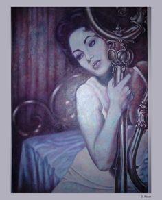 https://flic.kr/p/cCWCRq   D. Pauer. Painting. Elisabeth Taylor.   D. Pauer. Painter. Germany. siebenspiegel agency.