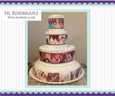 Torta Linea de tiempo - Sil Rodriguez Tortas Decoradas
