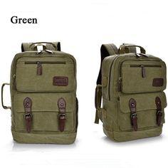 men backpack,men canvas backpack,male multifunction canvas backpack, retro large capacity durable bag