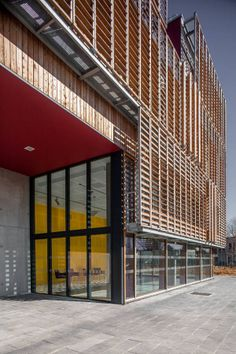 A Compiègne, l'université de technologie a mis les bois résille