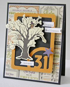 """October 31"" card - Scrapbook.com"