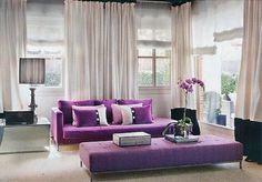 Decoración interior morado | Beige y púrpura, una combinación perfecta | Blog Briz