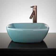 Bottego Hand-Glazed Vessel Sink