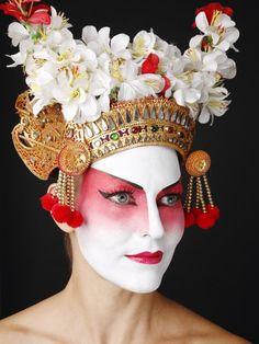 Theatrical - Character   Costume Makeup - Fantasy... halloween... etc