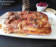 Reteta culinara Pulpa de porc la cuptor din categoria Mancaruri cu carne. Cu specific romanesc.. Cum sa faci Pulpa de porc la cuptor