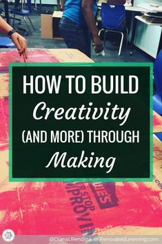The Four C's are a popular trend in education right now. Including creativity, these are valuable skills that students can learn through making. Magnet School, Right To Education, Think Deeply, Interactive Activities, Project Based Learning, Learning Spaces, Communication Skills, Critical Thinking, Problem Solving