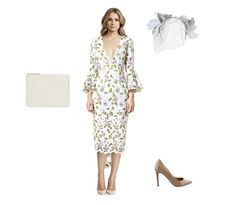Track Mode | Asilio Season Upgrade dress (buy or rent a dress here), Comme Des Garcons Classic Zip Pouch, Morgan & Taylor Tessa Fascinator (buy it here), Tony Bianco Whitney Heels (buy it here). September 2016