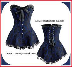 752fc25cc4af Adalina Corset Dress www.corsetsqueen-uk.com. Corsets Queen