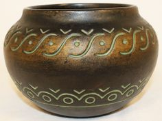 Norse Pottery Decorated Bowl 16 from Just Art Pottery