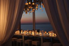This is one wedding we would LOVE to go to! Capri + candlelight = perfection via Sugokuii Weddings Italy