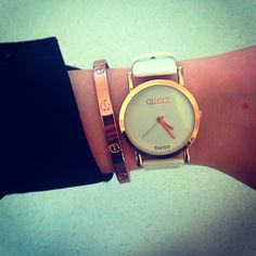Gucci watch and Cartier Love bangle Audemars Piguet, Cartier Love Bangle, Handbag Accessories, Jewelry Accessories, Gucci Jewelry, Jewelry Box, Gucci Watch, Rolex Datejust, Beautiful Watches