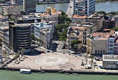 "Famoso ""Marco Zero"", local de muitas Festas e Carnaval. ""Bairro do Recife"". Recife. Estado de Pernambuco, Brasil."
