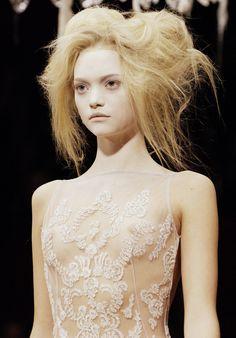 Gemma Ward for Alexander McQueen Spring/Summer 2007
