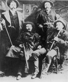 The James-Younger Gang is the name of a pseudo-guerrilla cell/outlaw gang that operated from 1866 to 1876. It was initially formed to attack Federal and Republican Party assets by the famous resistance leader, Archie Clement. Upon his death, the James and Younger brothers led the outfit, which continued to rob and fight government authority until its destruction in 1876.