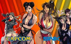 Fool's Gallery: Capcom and SNK by AmedoS310