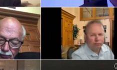 Ο Άντριου Μπρένερ,Ρεπουμπλικανόςγερουσιαστής του Οχάιο, έβαλε ένα ψεύτικο φόντο κατά τη διάρκεια τηλεδιάσκεψης στοZoomγια να φανείπως ήταν στο σπίτι του,…Περισσότερα...