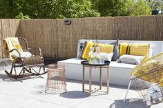 terraza con sillas acapulco