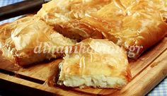 Κοτομπουγάτσα με τυρί Sweet Pastries, Pastry Recipes, Spanakopita, Greek Recipes, Apple Pie, Tart, Food And Drink, Favorite Recipes, Cooking
