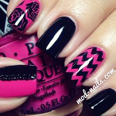 Instagram photo by modnails #nail #nails #nailart | See more nail designs at http://www.nailsss.com/...