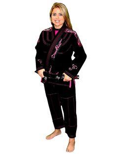 Break Point Women's Gi Beija-Flor Black