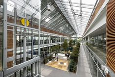 Completed in 2017 in Milano, Italy. Images by Dario Tettamanzi. The new headquarters This huge structure consists of four main buildings separated by two bioclimatic glasshouses: triple-height glazed spaces...