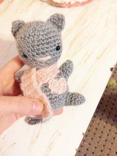 Free Valentine Kitten Amigurumi Crochet Pattern