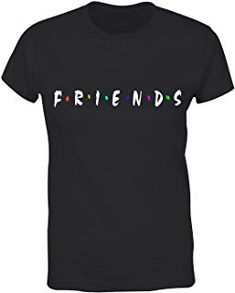 baa8ee2bc Womens Friends TV Show Graphic Tees Cute Funny T Shirts Teen Girls Tops