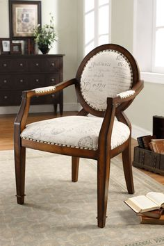 Furniture Vintage Wooden Occasional Chair For Living Room Choosing the Appropriate Occasional Chairs For The Living Room