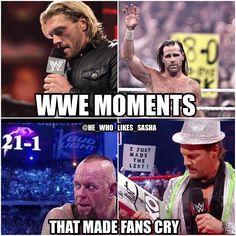 Some of the saddest moments in WWE History 😭. #wwe #wwememe #wwememes #edge #shawnmichaels #hbk #undertaker #theundertaker #brocklesnar #chrisjericho #y2j #kevinowens #fightowensfight #ko #wrestler #wrestling #wrestlingmemes #prowrestling #professionalwrestling  #wweuniverse #wwenetwork #wwesuperstars #raw #wweraw #mondaynightraw #smackdown #smackdownlive #wwesmackdown  #wwenxt #wwf