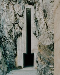 Castelgrande's bunker-like entrance captured in photos by Simone Bossi