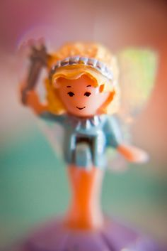 Original Polly Pocket. Definitely a favorite childhood toy.