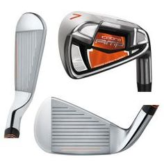 The Cobra AMP Iron Set enables customized distance and accuracy with the Advanced Material Placement (AMP) Technology. This multi-alloy design strategically positions weight to provide explosive long irons and consistent short irons. Brand: CobraModel: AM