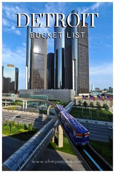 The more I read about Detroit, the more I realize a weekend isn't long enough to see everything I'd like to see. Metro Detroit is huge! It spans 1,967.1 square miles. I've got a big Detroit bucket list of things to do, places to see, and a lot of food to eat.