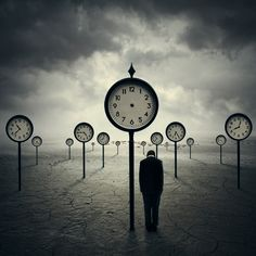 "Are you always regimented - or watching the clock? Time to break free of conformity. (""The Time Traveler"" by Norvhic Fernandez)"