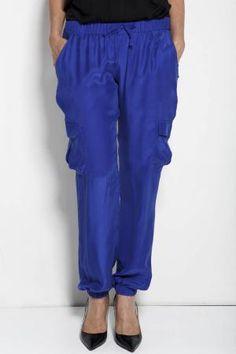 Camilla Silk Cargo Pant, Jane Ramsay Lounge Pants, Cargo Pants, Camilla, Parachute Pants, Silk, Elegant, Fashion, Classy, Moda