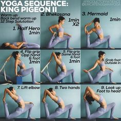 Yoga is a sort of exercise. Yoga assists one with controlling various aspects of the body and mind. Yoga helps you to take control of your Central Nervous System Yoga Bewegungen, Hatha Yoga, Sup Yoga, Yoga Moves, Kundalini Yoga, Yoga Meditation, Yoga Leg Stretches, Restorative Yoga Sequence, Bhakti Yoga