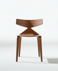 Into the wood. Saya, design Lievore Altherr Molina. #arper