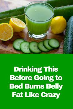 Drinking This Before Going to Bed Burns Belly Fat Like Crazy: