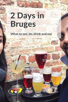 Bruges is certainly worth an overnight to enjoy its beauty once day trippers have left. Here's our 2 Day Bruges Itinerary to help you. Belgium Food, Travel Belgium, Belgium Germany, Visit Belgium, Belgium Bruges, France Travel, Travel Europe, Travel Abroad, Places