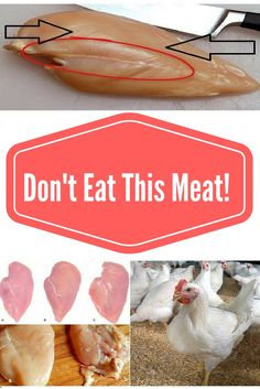 IF YOU SEE THESE WHITE LINES ON CHICKEN MEAT, YOU SHOULD THINK TWICE ABOUT EATING IT